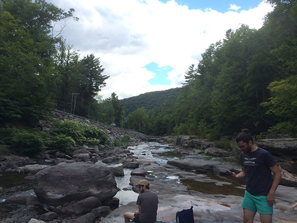 another view of the esopus creek