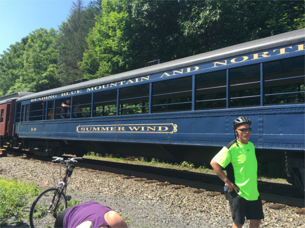 a lehigh gorge bike train car